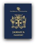 Jamaican Passport with Caribbean Community - CARICOM Endorsement